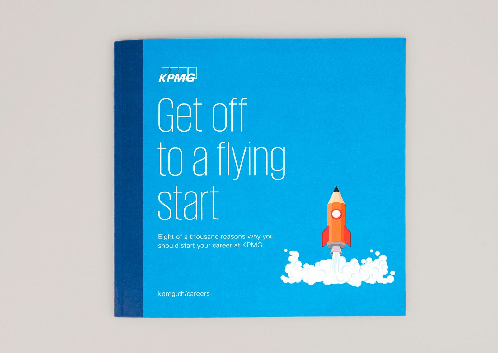 KPMG Marketing Broschüre Cover