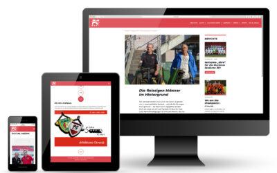 FC Muri Vereins-Website: Kommunikation mit Lust