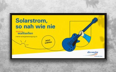 «Solarstrom, so nah wie nie» für Wallisellen